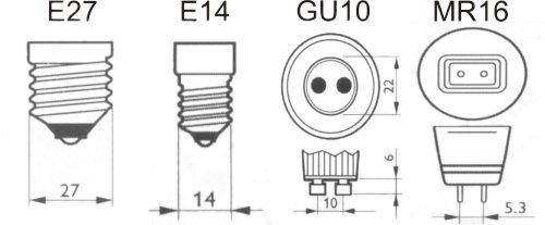 patice LED žárovky
